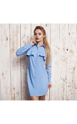 Платье-рубашка 1076ФЛ