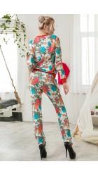 Спортивный костюм цветы 1-361АМ