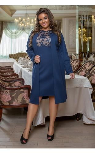 Платье + кардиган 370/2LZ