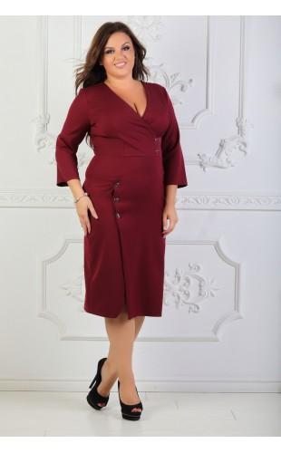 Платье имитация запах 017/3OD