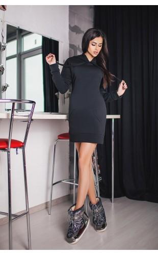 Платье-туника на флисе 099АА
