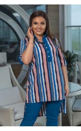 Костюм рубашка +бриджи мод 340ЛЗ/1