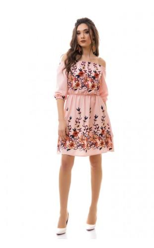 Платье с вышивкой 3038/1ИК