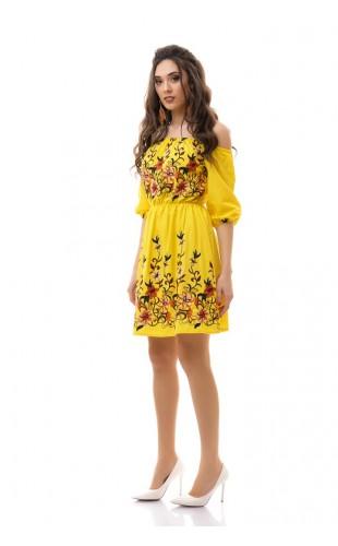 Платье с вышивкой 3038/2ИК