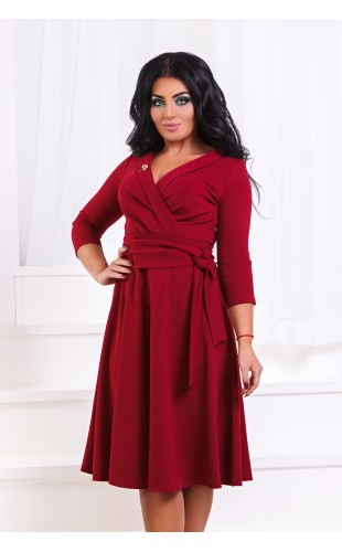 Платье батальное ат206ГД