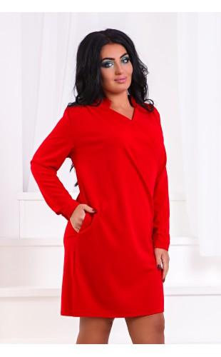 Платье- туника с карманами ат211ГД