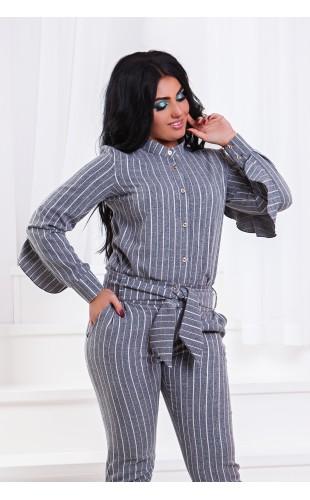 Костюм 2-ка брюки + блуза ат201/1ГД