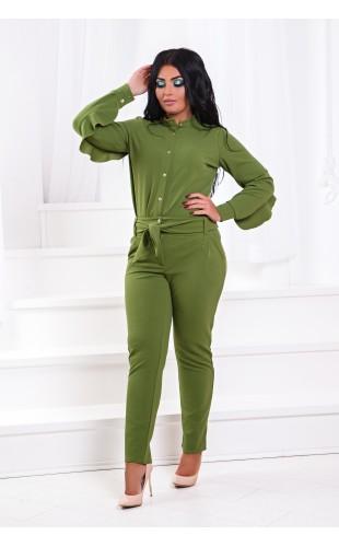 Костюм: брюки + блуза ат200ГД/1