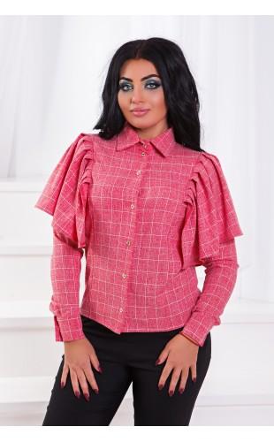 Блузка с воланами ат213ГД