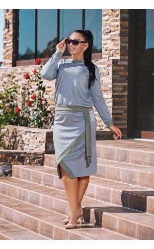 Комплект (юбка+кофта) 0120DG