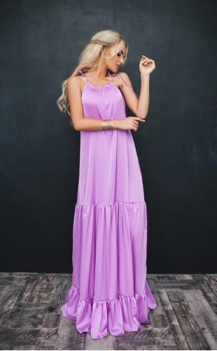 Шелковое платье 1036/2ФЛ