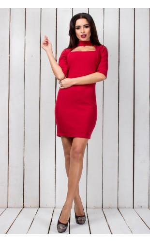 Платье с чокером 389/2ЮЮ