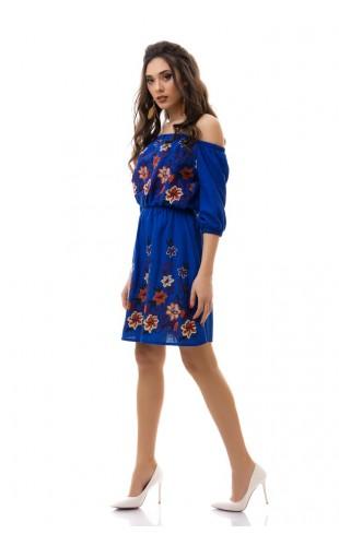 Платье с вышивкой 3038/4ИК