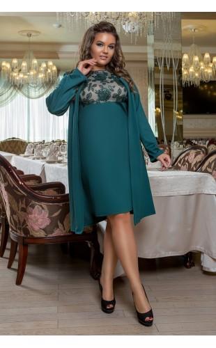 Платье + кардиган 370/3LZ