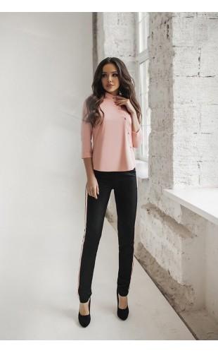 Женский костюм ( рубашка и брюки с лампасом ) 5085SF/1