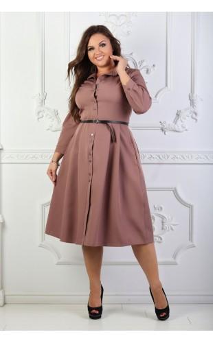 Платье - рубашка 1000/5OD