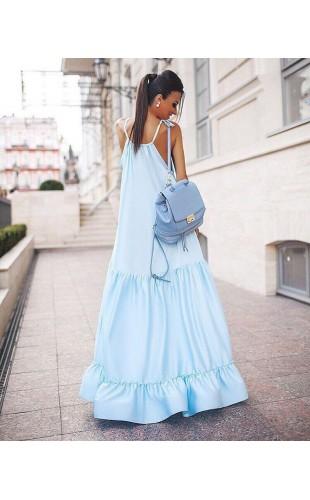 Шелковое платье 1036ФЛ