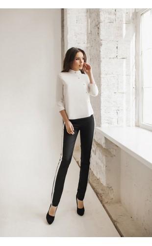 Женский костюм ( рубашка и брюки с лампасом ) 5085SF