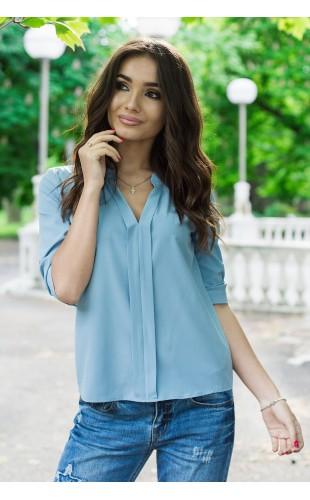 Блуза (со складкой впереди по всей длине) 127Y