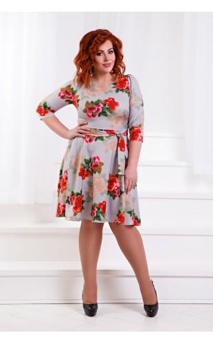 Платье батальное с1360ГД