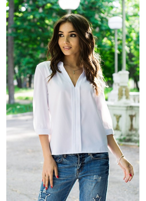 Блуза (со складкой впереди по всей длине) 127Y/2